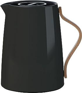Stelton x 201–2Emma Thé théière Isotherme 1l, Plastique, Noir, 17x 14x 19,5cm
