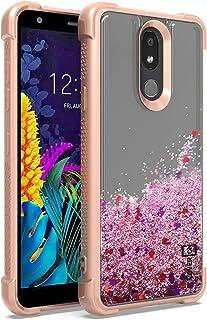 CoverON Liquid Glitter Sparkle Series for LG Aristo 4 Plus Case/LG Prime 2 Case Pink B448-CO-LGARISTO4PLUS-HY41-PK