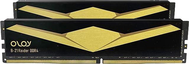 OLOy DDR4 RAM 16GB (2x8GB) 3000 MHz CL16 1.35V 288-Pin Desktop Gaming UDIMM (MD4U0830160BB2DA)