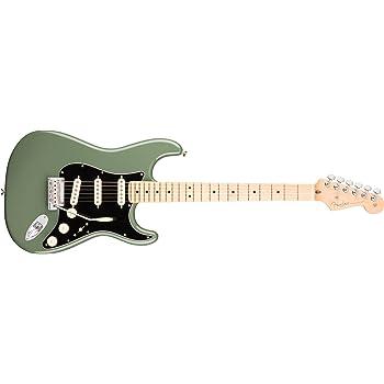 American Professional Stratocaster MN Antique Olive: Amazon.es ...