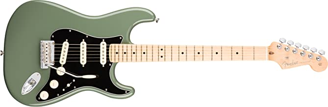 Fender American Professional Stratocaster Maple Fingerboard Electric Guitar Antique Olive