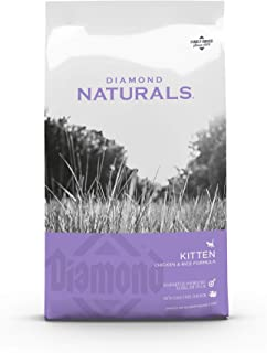 Diamond Naturals Kitten Chicken and Rice Formula With Cage-Free Chicken, Complete and Balanced Cat Food 2.72 kg