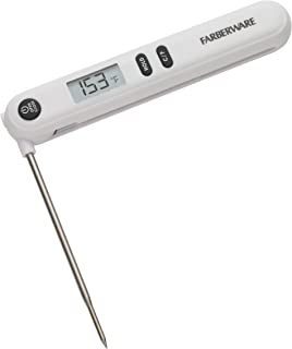 Farberware Protek Folding Digital Instant Read Thermometer, One Size, Black
