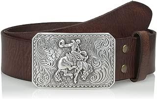 Nocona Men's Brown Basic Bullrider Belt