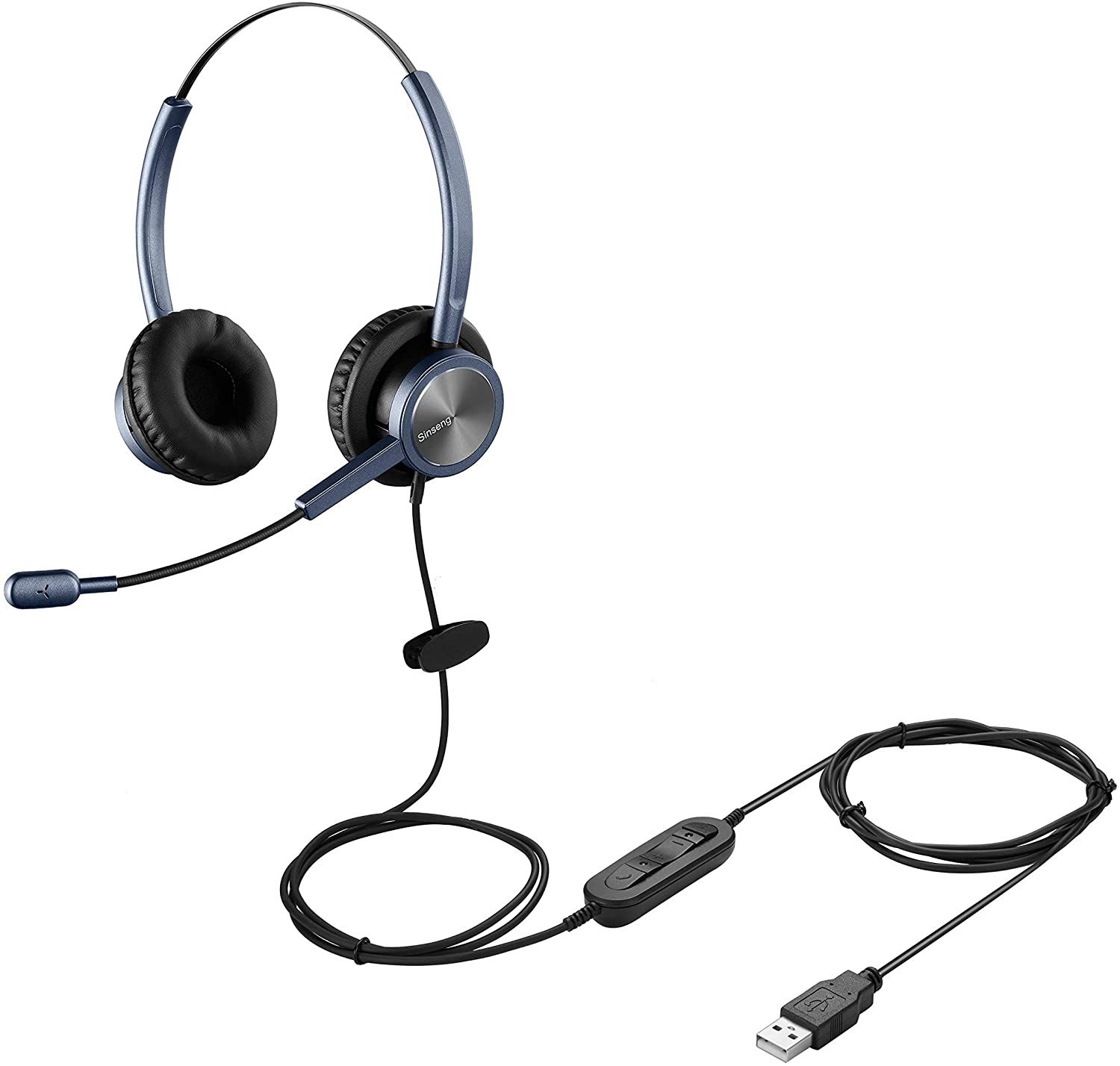 55% OFF Overseas parallel import regular item Sinseng Computer Headset with Noise for Cancelling Microphone La