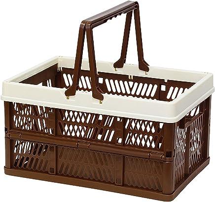 折叠 堆叠 容器盒 棕色 Large 400730006