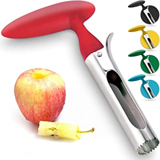 Premium Apple Corer – Easy to Use Durable Apple Corer Remover for Pears, Bell..