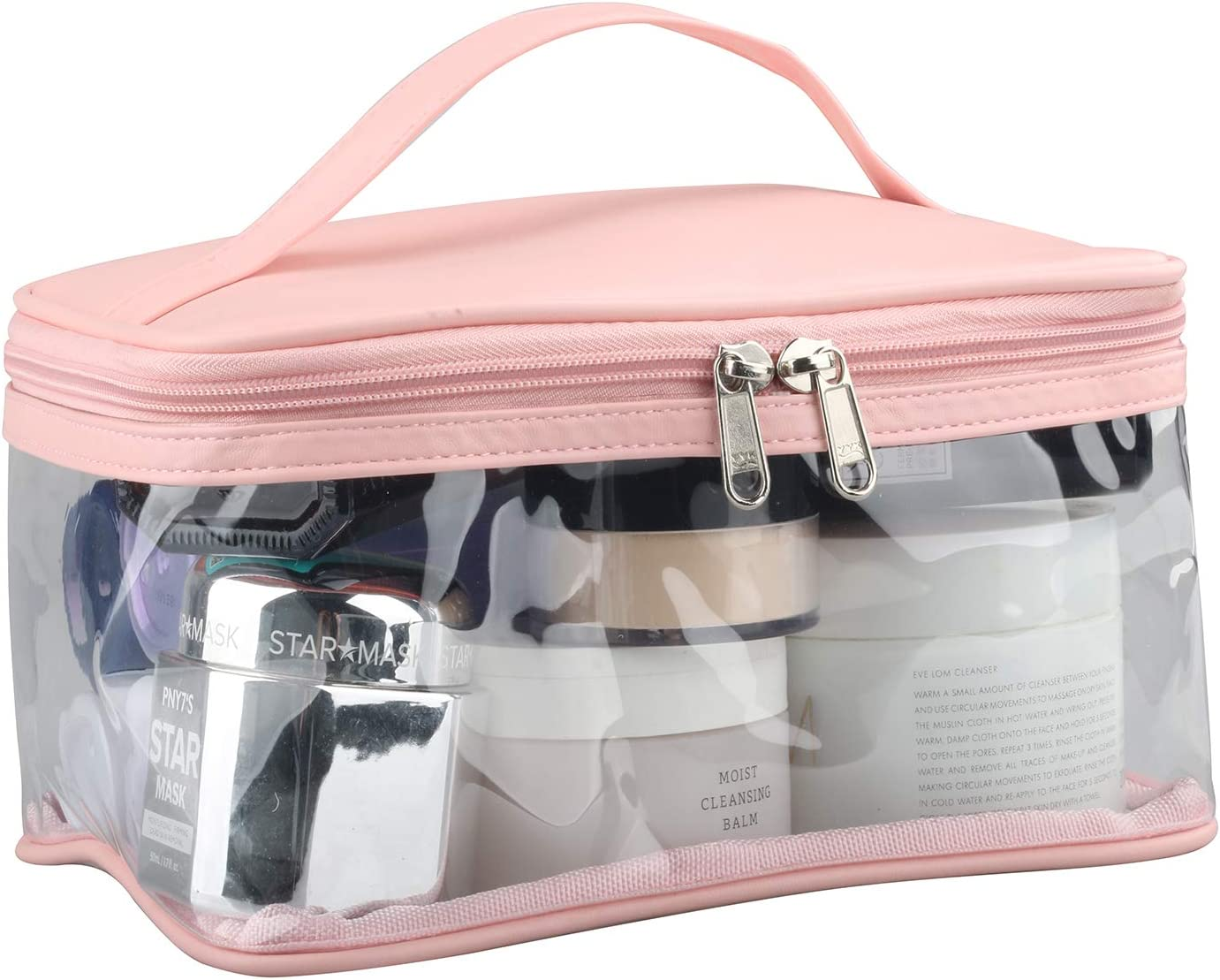 Heavy Duty Clear Large Minneapolis Mall Makeup Waterpro with Bag Internal Seasonal Wrap Introduction Pocket