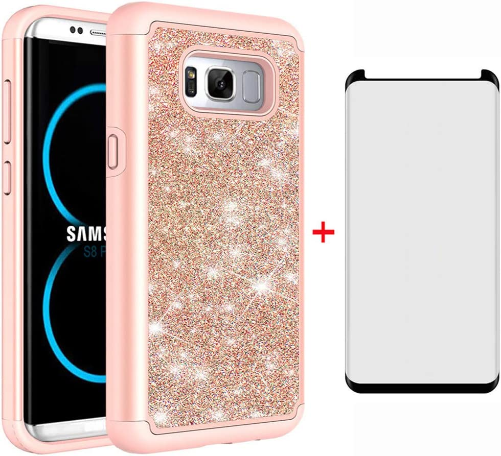 Phone Case for Samsung Galaxy S8 Glass Tempered Las Vegas Mall Screen with Prot Opening large release sale
