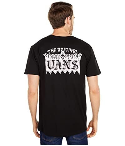 Vans Welcome Committee Short Sleeve Tee (Black) Men