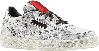 Reebok Boys Club C Kendrick Distressed Low Top Fashion Sneakers