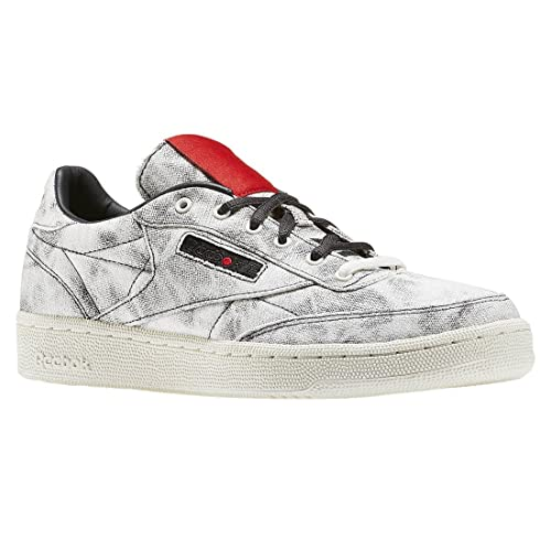 Reebok Boys Club C Kendrick Distressed Low Top Fashion Sneakers d2b9d47f7