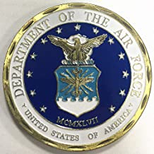 USAF Challenge Coin Airman Core Value Coin for Military Veteran