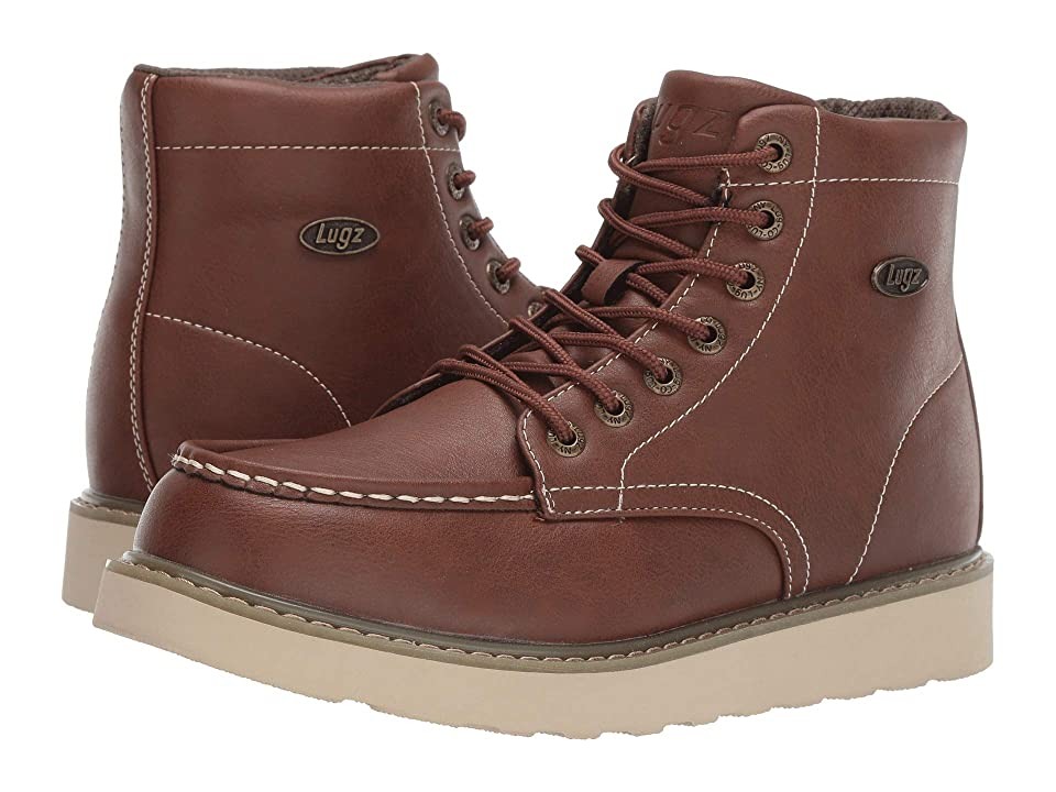 Lugz Cypress (Dark Brown/Gum/Cream) Men