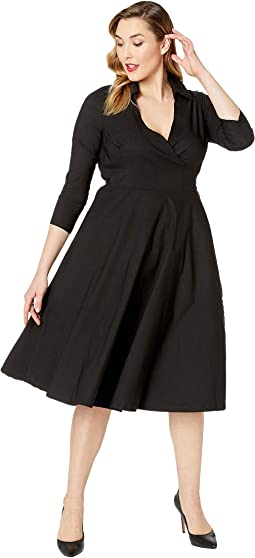 Plus Size Anna Wrap Dress