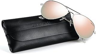 GREY JACK Polarized Classic Aviator Sunglasses...