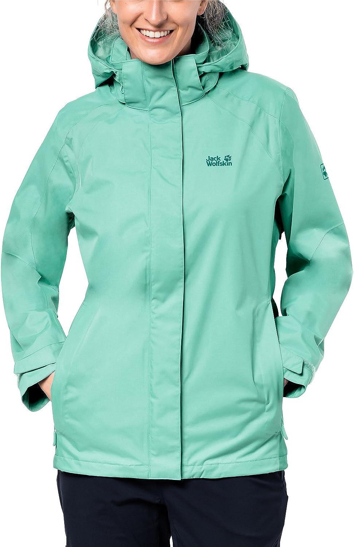 Jack Wolfskin Women's The Esmeraldas Waterproof Shell Rain Jacket