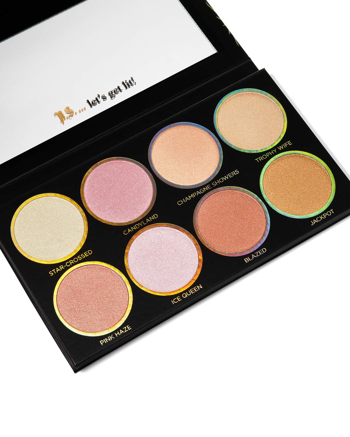 Private New Shipping Free Shipping Society Cosmetics Glow Getter Palette Highlighter unisex Volume