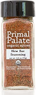 Primal Palate Organic Spices New Bae Seasoning, Certified Organic, 2.8 oz Bottle