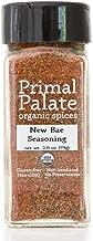 Primal Palate Organic Spices New Bae Seasoning, Certified Organic, 2.8 oz Bottle
