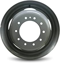 Road Ready Car Wheel For 2005-2018 Ford F450SD Ford F550SD 19.5 Inch 10 Lug Gray Steel Rim Fits R19.5 Tire - Exact OEM Replacement - Full-Size Spare