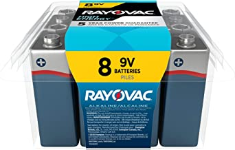 product image for Rayovac 9V Batteries, Alkaline 9V Battery (8 Count)