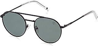 Timberland Aviator Sunglasses Unisex Sunglasses - Green Lens, TB9158-02R-54