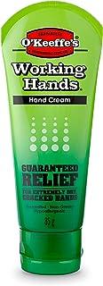 O'Keeffe's K0290004-10 Working Hands Hand Cream Tube (10 Pack), 3 oz