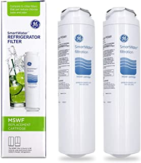 Steel shoP 2 Pack SmartWater Refrigerator Filter MSWF Replacement Cartridge Box