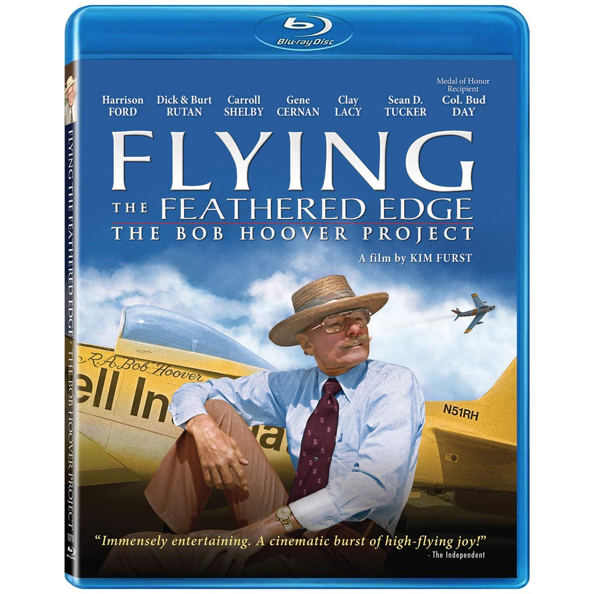 National uniform Ranking TOP13 free shipping Flying the Feathered Edge: The Blu-ray Hoover Disk Project Bob
