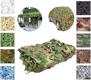 camufar y Dar Sombra Camuflaje Camoet Woodland Camo para el Paisaje Forestal BELLENOV Malla de Camuflaje Militar para Decorar