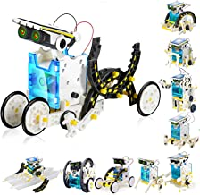 STEM Toys for 8 Year Olds Kids Education Solar Robot - Science Experiment DIY Building Kit Stem Toys with Working for Boys...