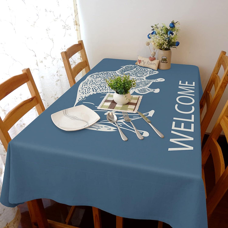 Flouky Cotton Linen Tablecloth for Restaurants El Paso Mall Weddings 100% quality warranty Stretch