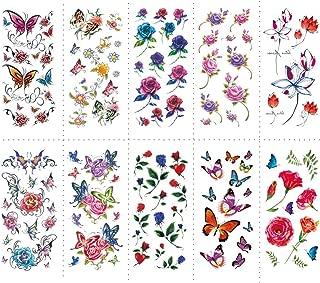 Best butterfly waist tattoos Reviews