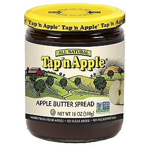 Tap'n Apple Apple Butter Spread, 18 Ounce Jar