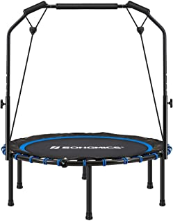 SONGMICS 40 Inches Mini Fitness Trampoline, Fitness...