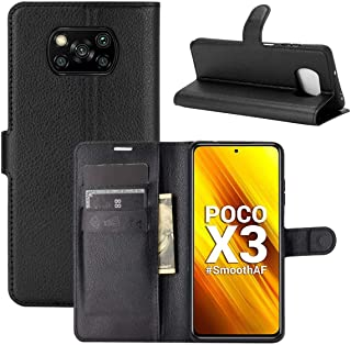"Capa Capinha Carteira 360 Para Xiaomi Poco X3 com Tela de 6.67"" polegadas - Case Couro Flip Wallet Anti Impacto - Danet (P..."