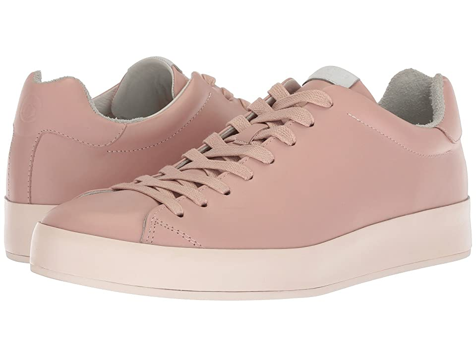 rag & bone RB1 Low Top Sneakers (Pink Smooth Nappa) Men