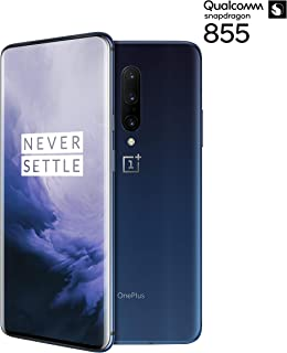 Oneplus 7 Pro GM1910 256GB, 8GB, Dual Sim, 6.67 inch, 48MP Main Lens Triple Camera, GSM Unlocked International Model, No Warranty (Nebula Blue)