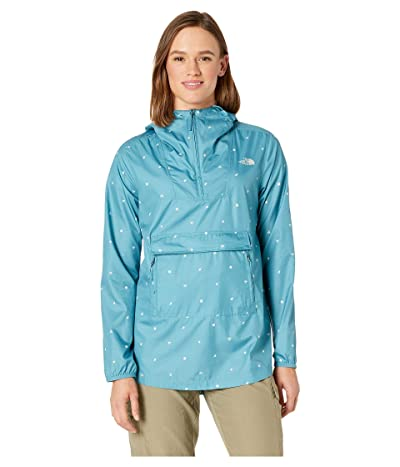 The North Face Printed Fanorak (Storm Blue Outdoor Print) Women