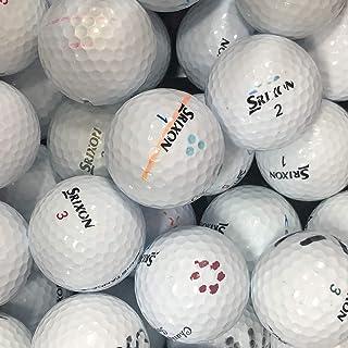 Bランク SRIXON (スリクソン) 各種混合 ホワイト系 50球 ロストボール 【ECOボール】