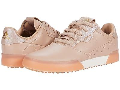 adidas Golf Adicross Retro (Ash Pearl/Gold Metallic/Chalk White) Women