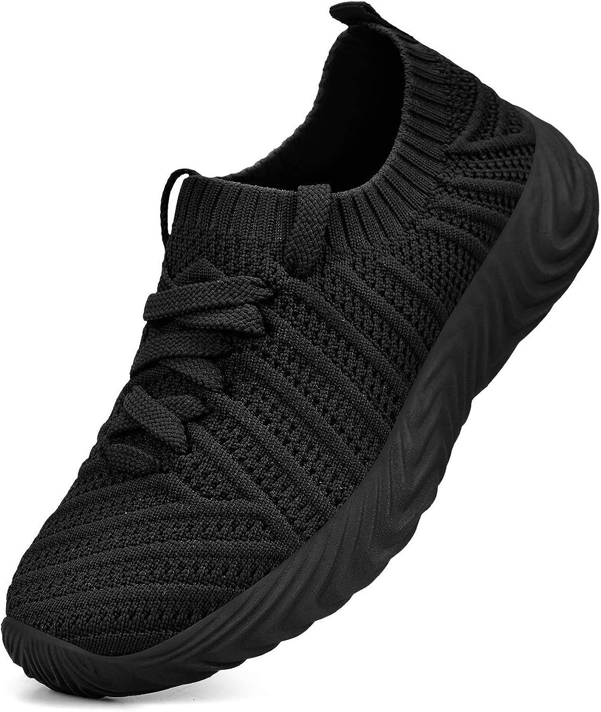 Troadlop Kids Shoes Lightweight Slip On Breathable Running Tennis Walking Shoes for Girls Boys