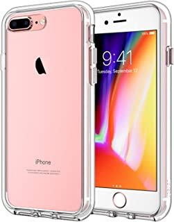 JETech Case for iPhone 8 Plus and iPhone 7 Plus 5.5-Inch, Shockproof Bumper Cover, Anti-Scratch Clear Back, HD Clear