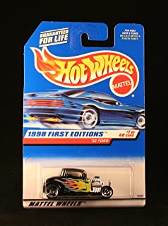 Hot Wheels 1998 First Editions '32 Ford 7/40, Black