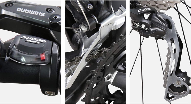 Mzq-yj Mountain Bikes 30 Speed 27.5 Inch Big Wheels Hardtail Mountain Bike Aluminum Alloy Frame Mountain Trail Bike