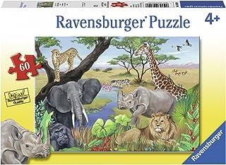 Ravensburger 09600 Safari Animals jigsaw puzzles