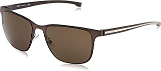 Hugo Boss Wayfarer Sunglasses for Women - Brown Lens