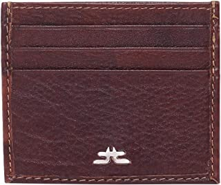 Laveri Card and Bill Holder Wallet for Unisex - Leather, Brown