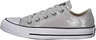 CONVERSE ALL STAR Ox Womens Sneakers Silver